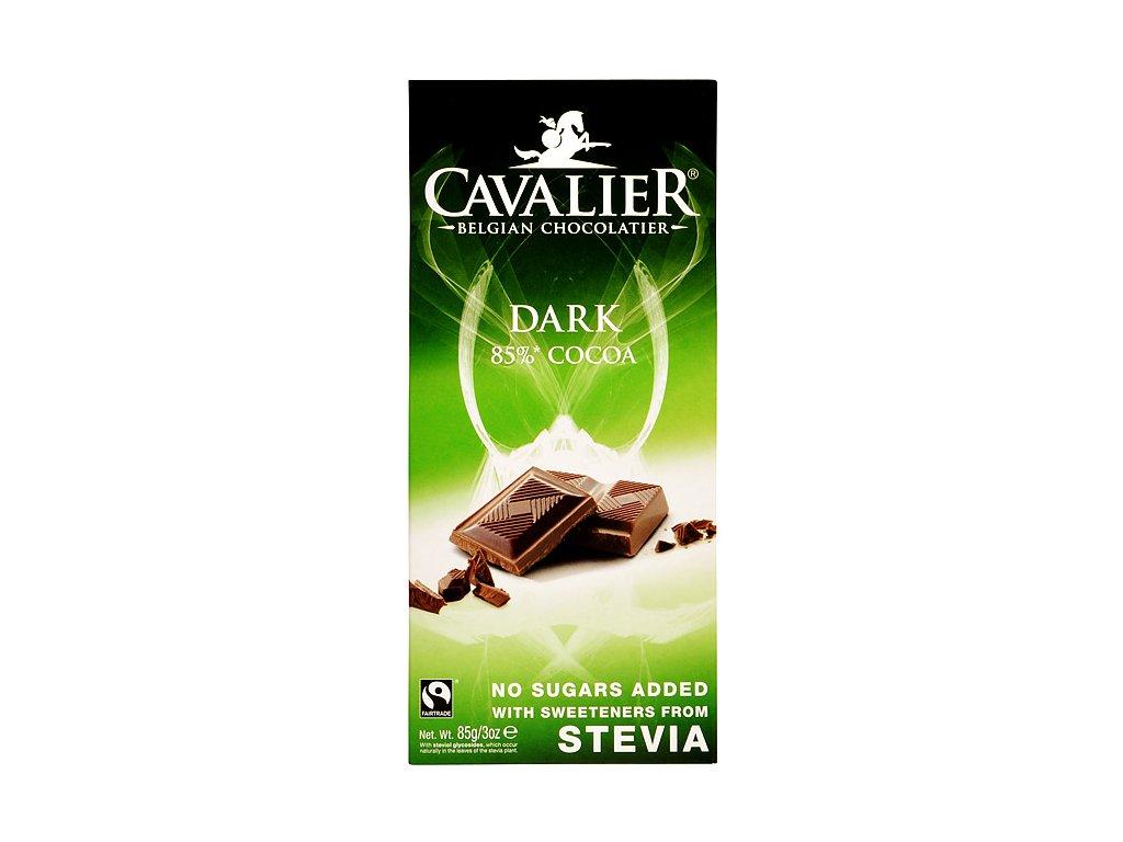 Čokoláda hořká se stévií 85g