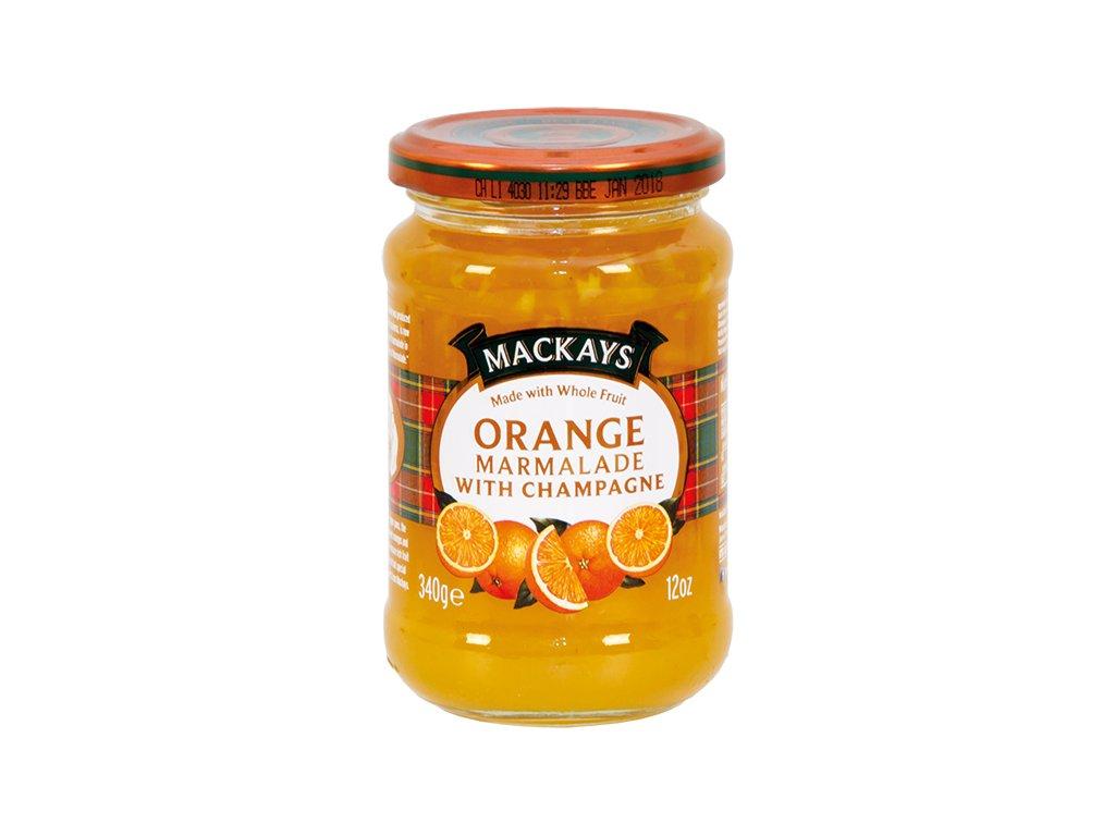Pomerančová zavařenina se šampaňským vínem
