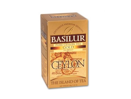 Čaj Island of Tea Gold přebal 40g