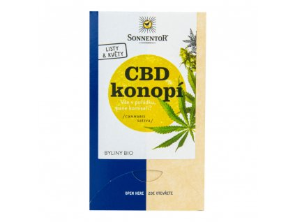 Čaj CBD konopí 21,6 g