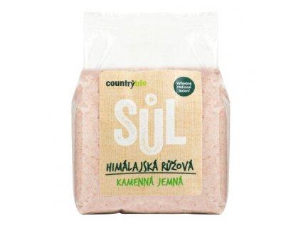 Sůl himálajská růžová jemná 1 kg