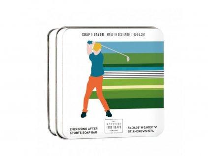 Mýdlo v plechu - Golf, 100g