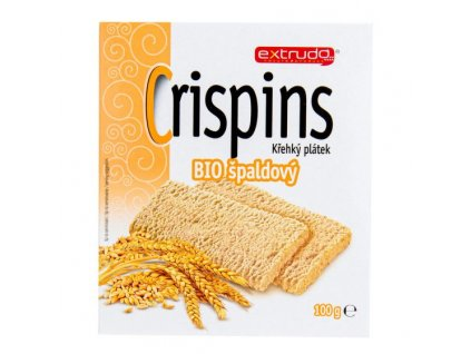 Chlebíček vícezrnný špaldový Crispins 100 g