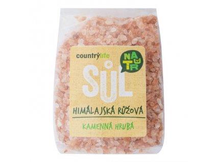 Sůl himálajská růžová hrubá 500g