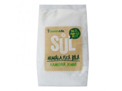 Sůl himálajská bílá jemná 500g