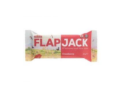 Flapjack ovesný brusinka, bezlepkový 80g