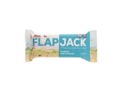 Flapjack ovesný kešu-kokos, bezlepkový 80g
