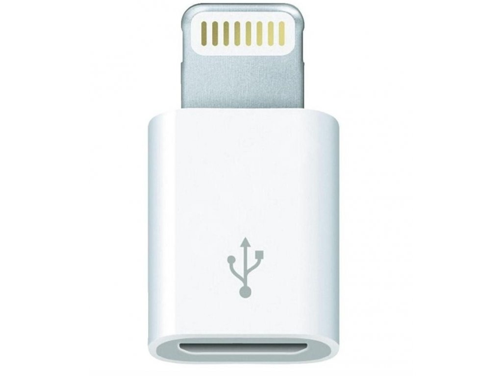 Adaptér z micro usb na iphone 5/5s/se/6/6s/6 plus/6s plus