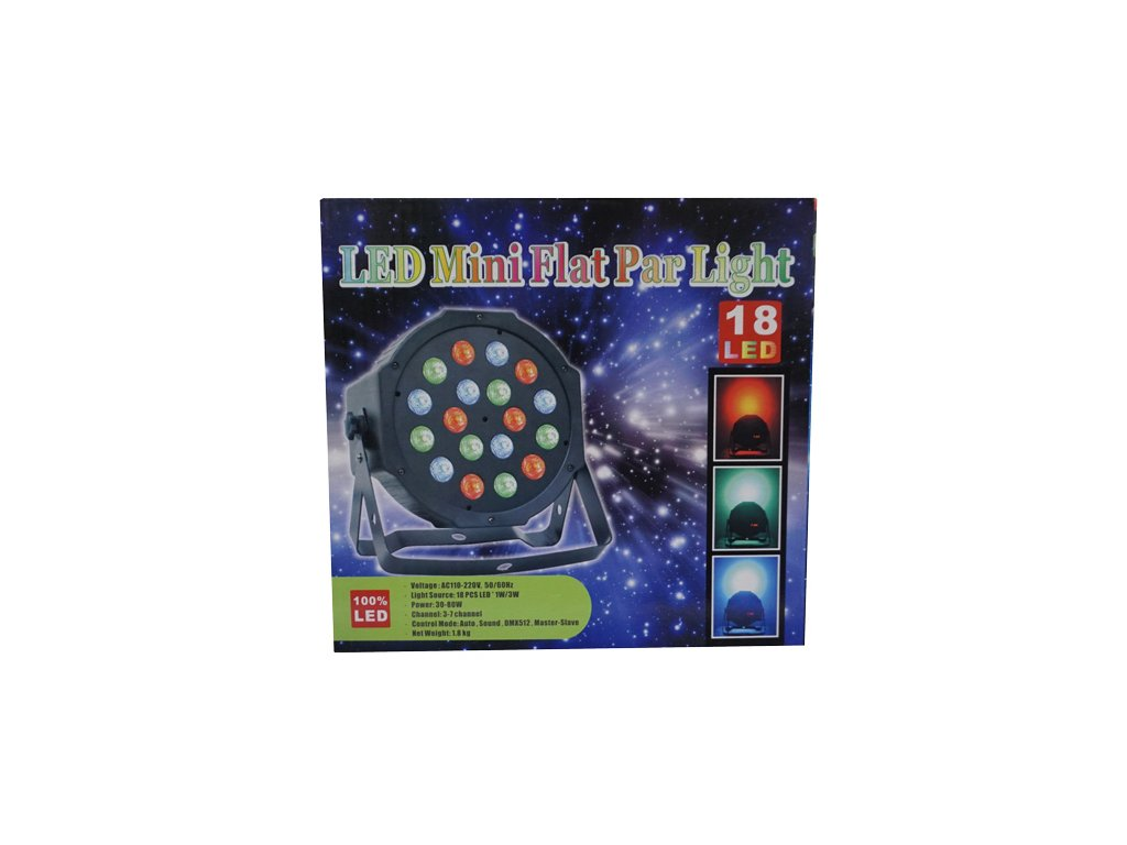led mini flat par light