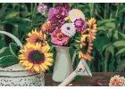 Malen nach Zahlen - Blumenparadies