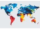 Malen nach Zahlen - Landkarten
