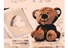 Malen nach Zahlen - Teddybär