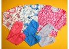 Pyžamo dlouhý rukáv jednobarevné kalhoty 2
