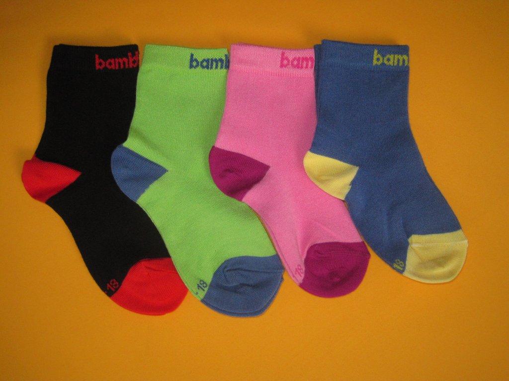 64bdc2dce96 Dětské bambusové ponožky Hugo