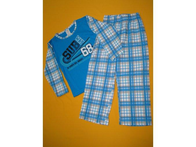 Pyžamo dvoudílné potisk + kostka