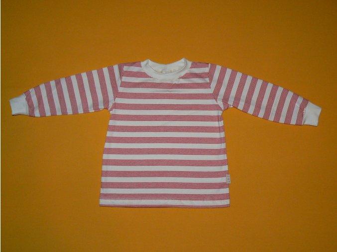 Tričko bio dlouhý rukáv