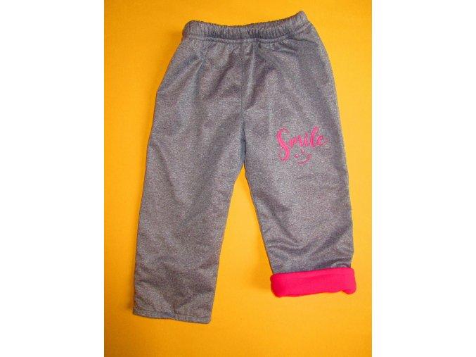 Zateplené outdoorové kalhoty s potiskem 1
