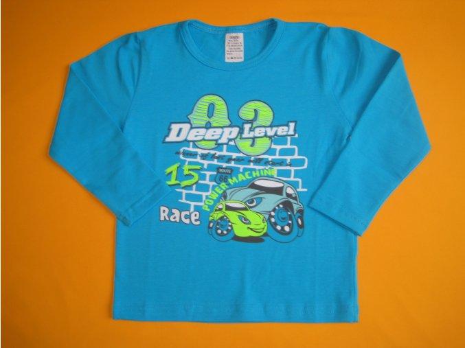 Chlapecké tričko s potiskem Deep Level