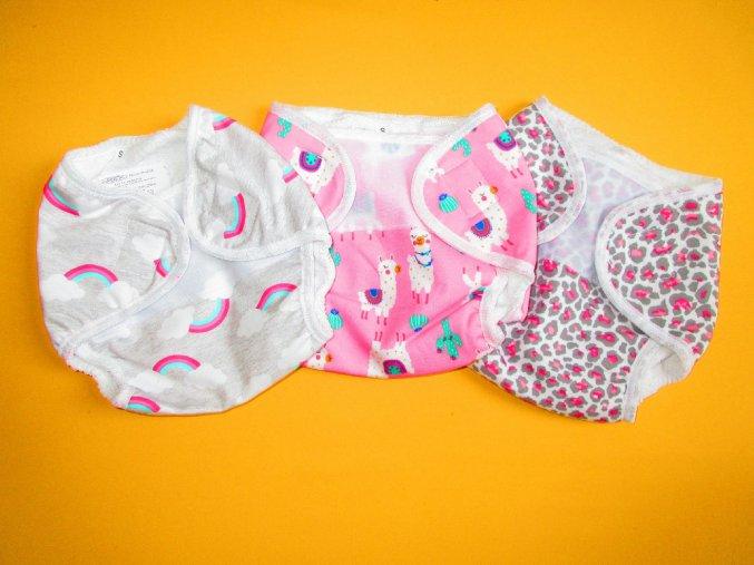 Kojenecké kalhotky na pleny
