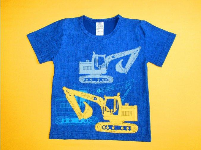 Chlapecké tričko krátký rukáv Bagr 2
