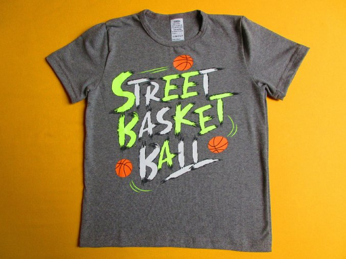 Tričko krátký rukáv Street basketball