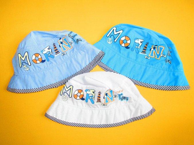Letní plátěný klobouček Morine