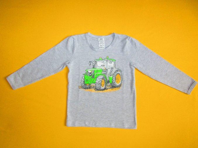 Chlapecké tričko dlouhý rukáv Traktor 2