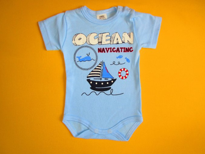 Body krátký rukáv Ocean navigating