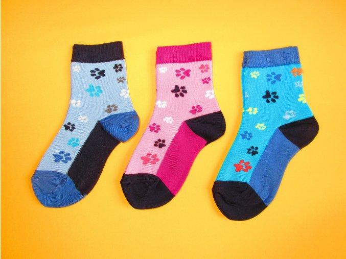 Bambusové ponožky Stopík