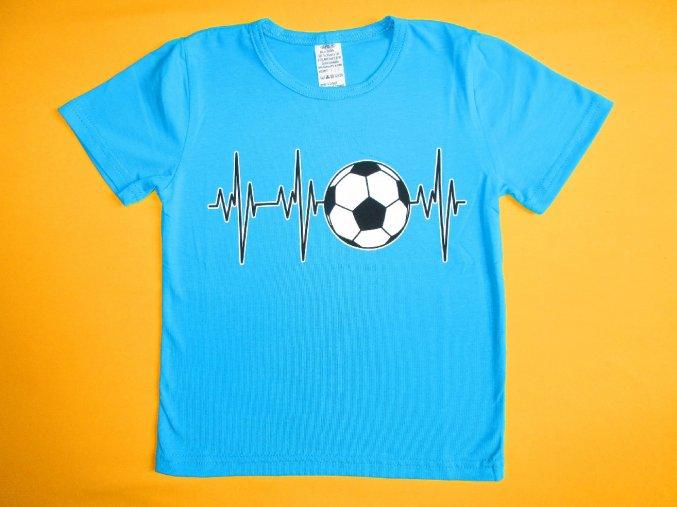 Chlapecké tričko krátký rukáv Míč 1