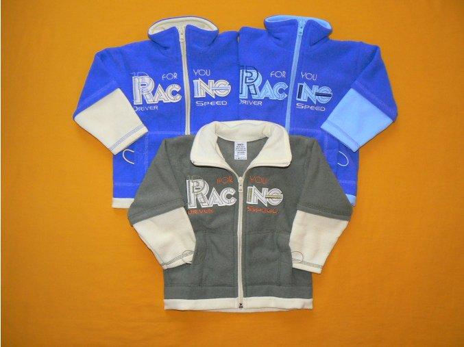 Froté mikina Racing
