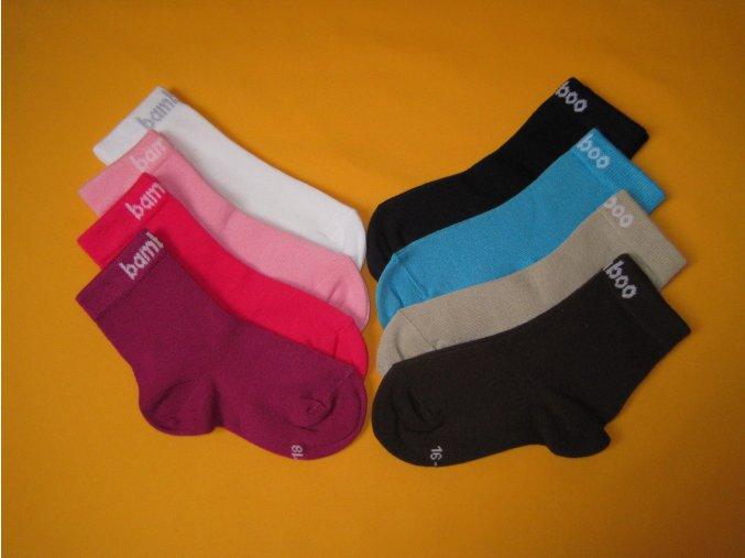 Bambusové ponožky Bobik 2