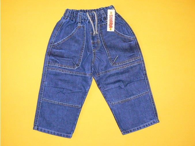 Jeans kolenáče do gumy