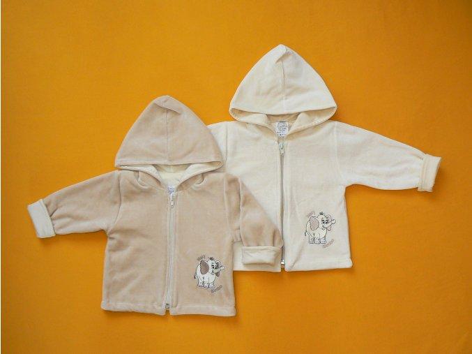 Kabátek Malý Bimbo s kapucí