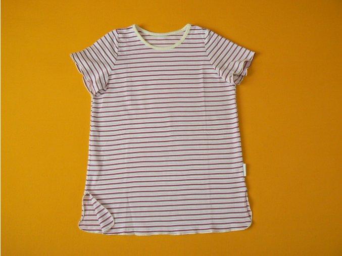 Noční košile krátký rukáv (antibakteriální bambus)