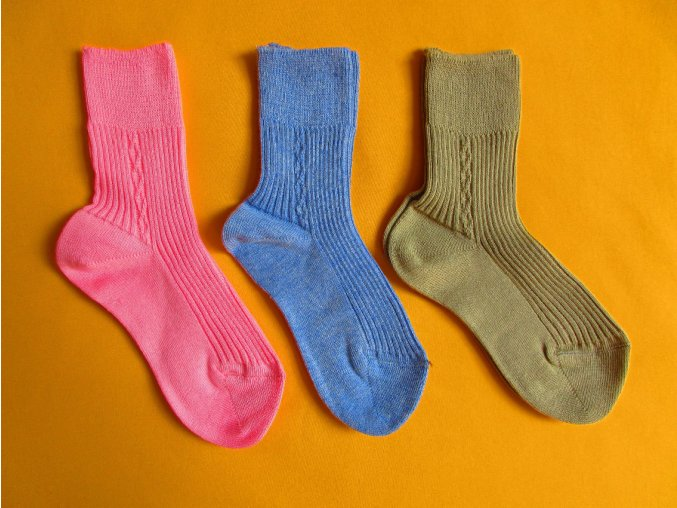 Bavlněné ponožky Bosik - 100% bavlna