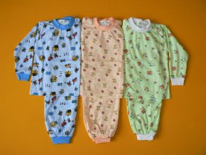 Pyžamo dvoudílné dlouhý rukáv 1