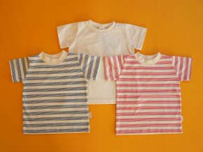 Tričko bio bavlna krátký rukáv