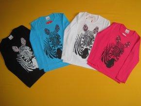 Tričko dl. rukáv Zebra