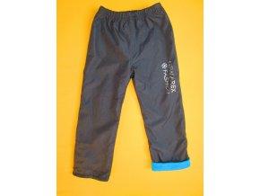 Zateplené šusťákové kalhoty s potiskem 2
