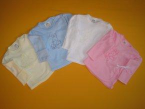 Košilka do porodnice s rukavičkou výšivka