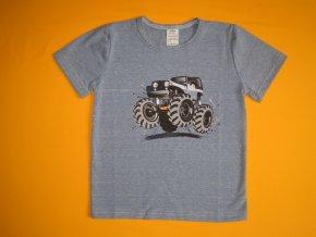 Chlapecké tričko Monstertruck, krátký rukáv 1