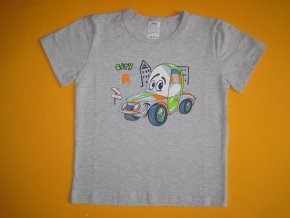 Chlapecké tričko City car, krátký rukáv