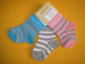 Kojenecké bambusové ponožky Babárek