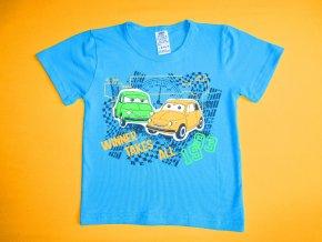 Chlapecké tričko krátký rukáv Auta