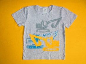 Chlapecké tričko krátký rukáv Bagr 1