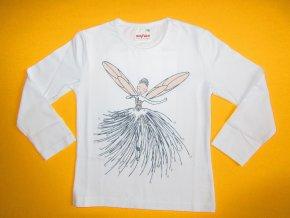 Dívčí tričko dlouhý rukáv Ballerina 1