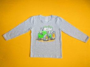 Chlapecké tričko dlouhý rukáv Traktor 1