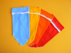 Dívčí čepice - šátek