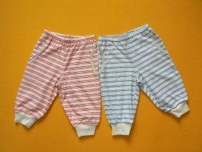 Kalhoty do nápletu (bio bavlna jednolícní)